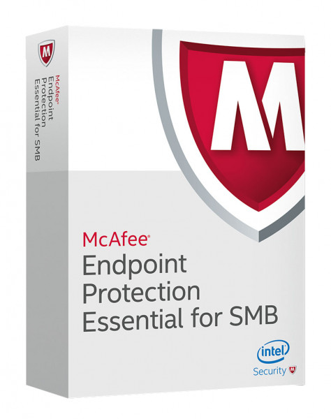 McAfee Endpoint Protection Essential for SMB - 1 Gerät - 1 Jahr