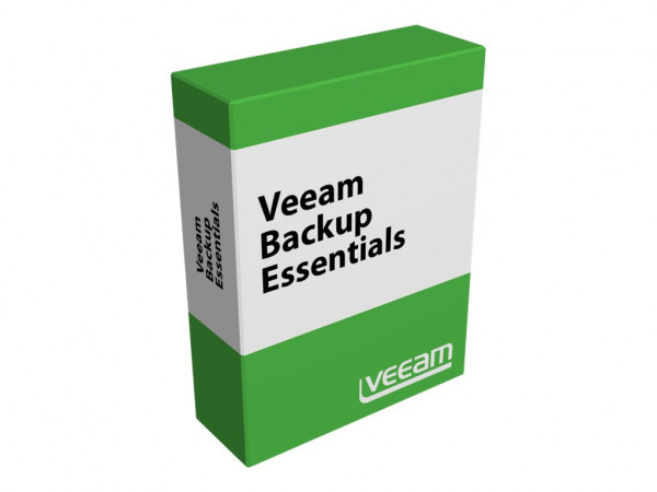 Veeam Backup Essentials Standard 2 socket bundle Maintenance (any hypervisor, any edition) - 1 Jahr