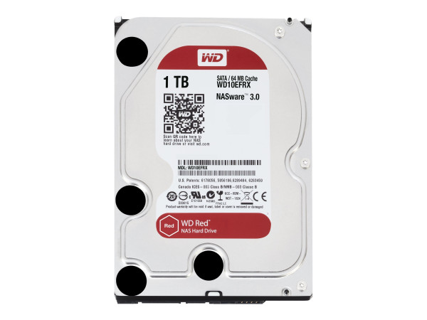 NAS HD 1 TB WD10EFRX SATA-III WD RED